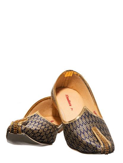 Khadim's Navy Ethnic Mojri Shoe