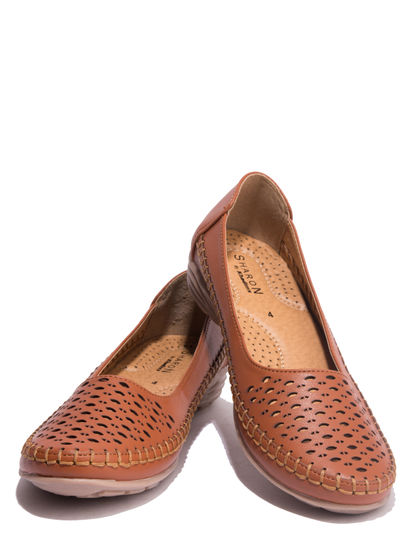 Sharon Brown Casual Ballerina Shoe