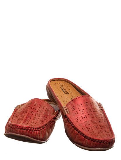 Sharon Cherry Casual Clog Shoe
