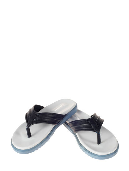 Khadim's Black Casual Outdoor Slipper