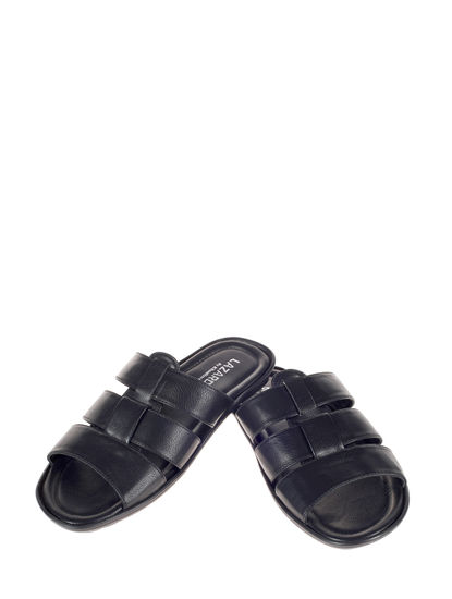 Lazard Black Casual Fisherman Sandal
