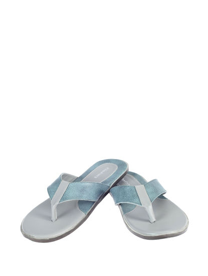 Khadim's Grey Casual Outdoor Slipper