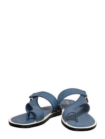 Khadim's Blue Casual Dress Slipper