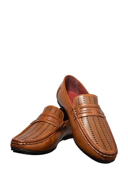Lazard Men Tan Casual Loafer Shoe