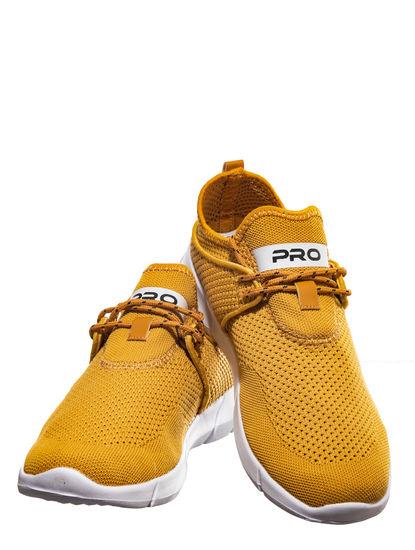 Pro Yellow Lifestyle Dress Sneakers