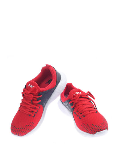 Pro Red Sports Activity Sneakers