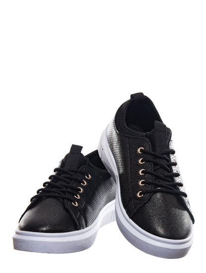 Pro Black Lifestyle Dress Sneakers