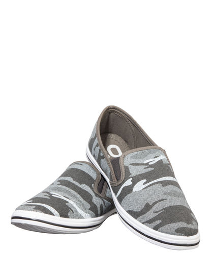 Pro Men Grey Casual Slip-On Shoe