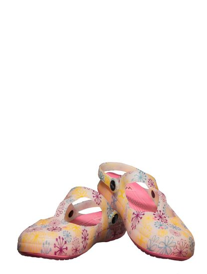 Waves Pink Casual Strap-On Sandal
