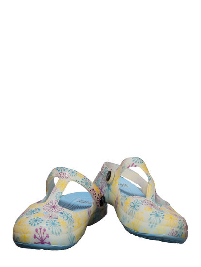 Waves Blue Casual Strap-On Sandal