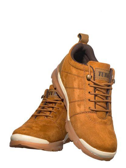 Turk Men Tan Outdoor Safari Boots