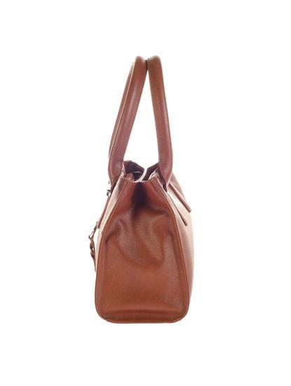 Khadim's Brown Baguette Handbag