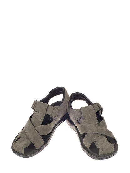 Khadim's Olive Casual Dress Sandal