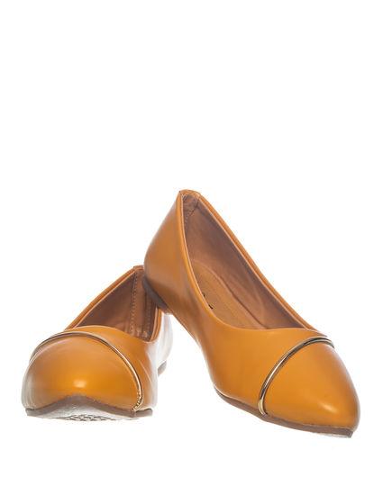 Khadim's Cleo Women Yellow Casual Ballerina Shoe