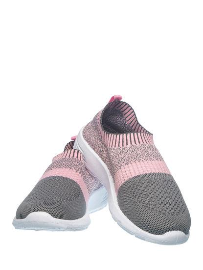 Khadim's Adrianna Girls Pink Slip-On Sneakers