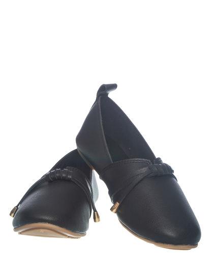 Khadim's Women Black Casual Loafer Shoe
