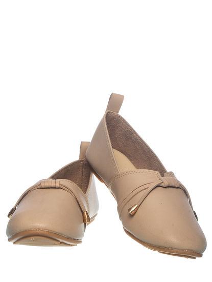 Khadim's Women Beige Casual Loafer Shoe