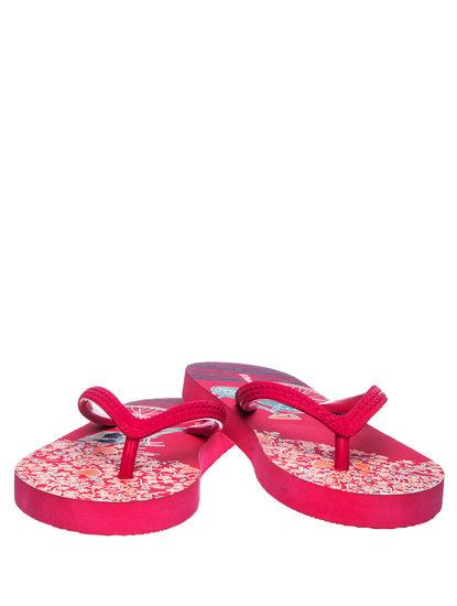 Khadim's Adrianna Girls Pink Indoor Flip-Flop