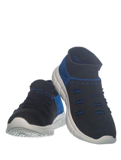Khadim's Pedro Boys Navy Slip-On Sneakers
