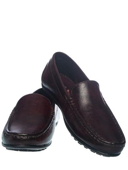Khadim's Pedro Boys Brown Loafer Shoe