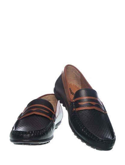 Khadim's Pedro Boys Black Loafer Shoe