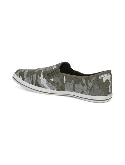 Pro Men Olive Casual Slip-On Shoe