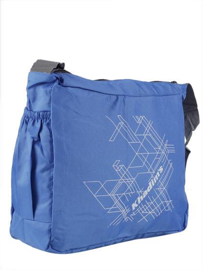 Khadim Men Blue Crossbody Bag