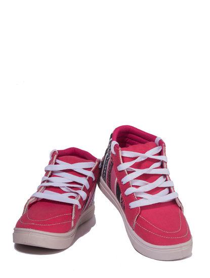 Khadim's Pro Girls Pink Casual Dress Sneakers