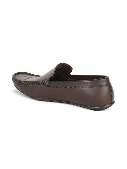 Khadim's Lazard Men Brown Casual Loafer Shoe