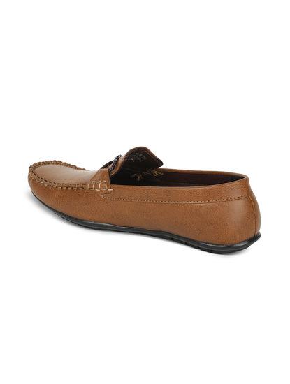 Khadim's Lazard Men Brown Lifestyle Loafer Shoe