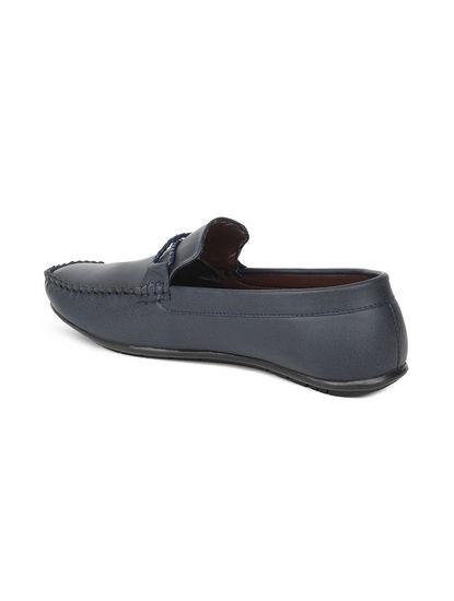 Lazard Men Navy Loafers