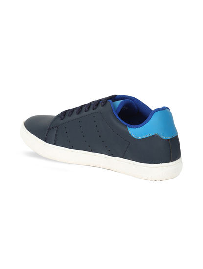 Khadim's Lazard Men Navy Casual Dress Sneakers