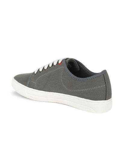 Khadim's Lazard Men Grey Lifestyle Dress Sneakers