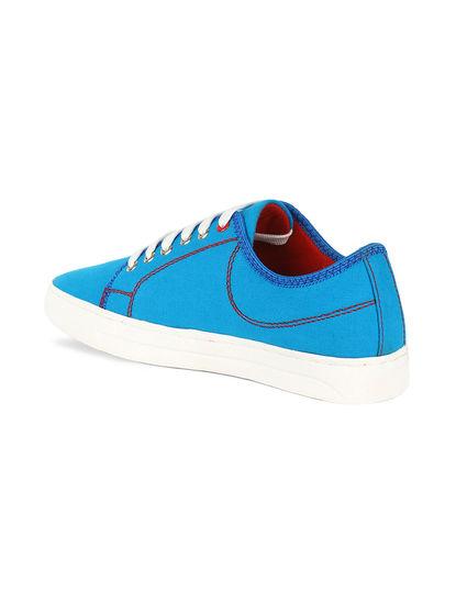 Khadim's Lazard Men Blue Lifestyle Canvas Shoe