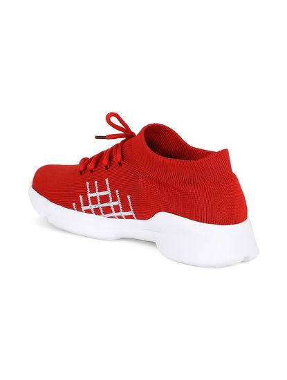 Pro Men Red Sneakers