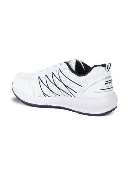Pro Men White Sneakers