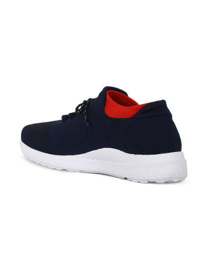 Lazard Men Navy Sneakers
