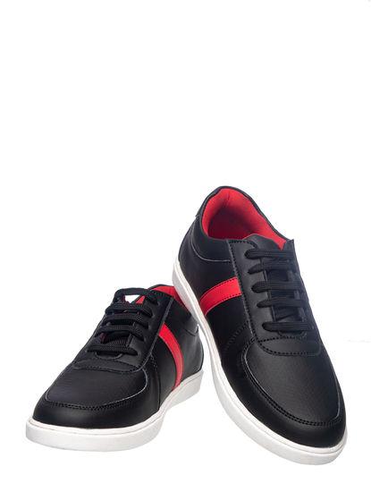 Khadim's Lazard Men Black Casual Dress Sneakers