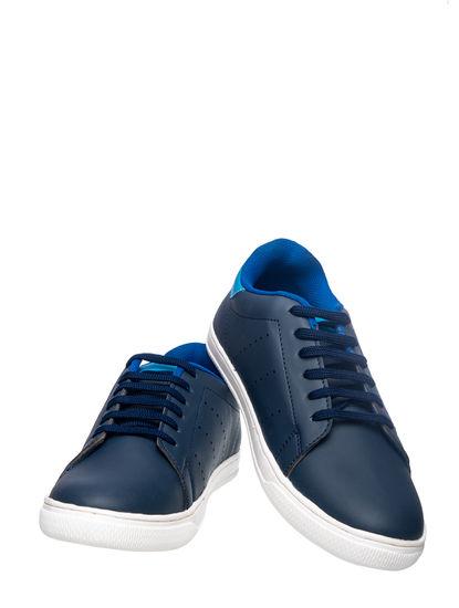 Khadim's Lazard Men Navy Casual Dress Sneakers