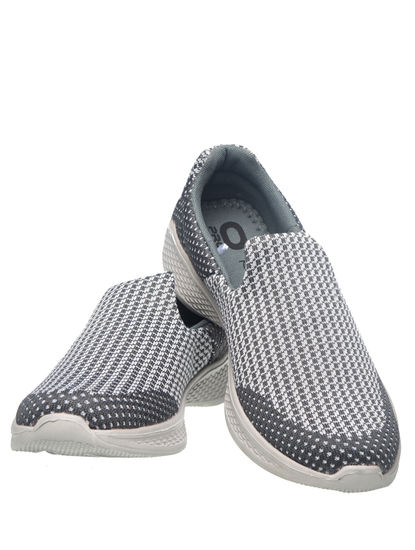 Khadim's Pro Men Grey Activity Sneakers