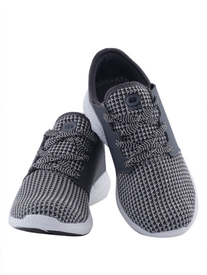 Khadim's Pro Men Grey Dress Sneakers