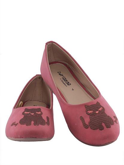 Khadim's Adrianna Girls Pink Ballerina Shoe