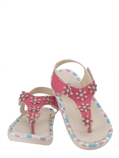 Khadim's Adrianna Girls Pink Flat Slipper