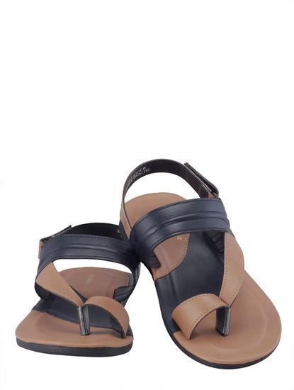 Khadim's Boys Tan Strap-On Sandal