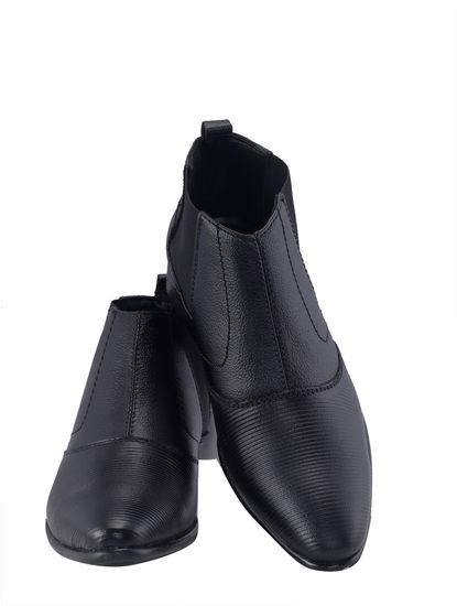 Khadim's Boys Black Dress Shoe