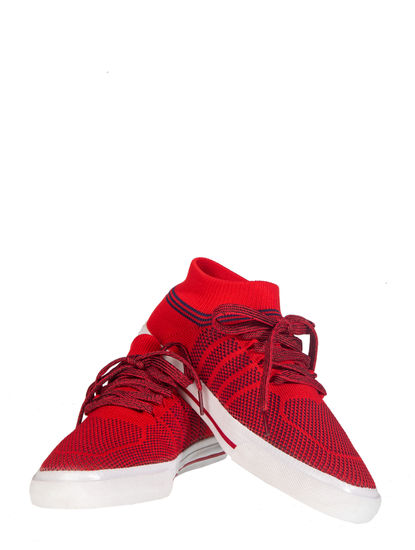 Pro Men Red Casual Dress Sneakers