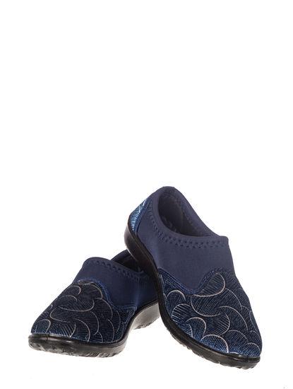 Khadim's Women Navy Casual Slip-On Sneakers