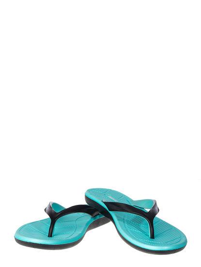 Waves Women Blue Casual Outdoor Flip-Flop