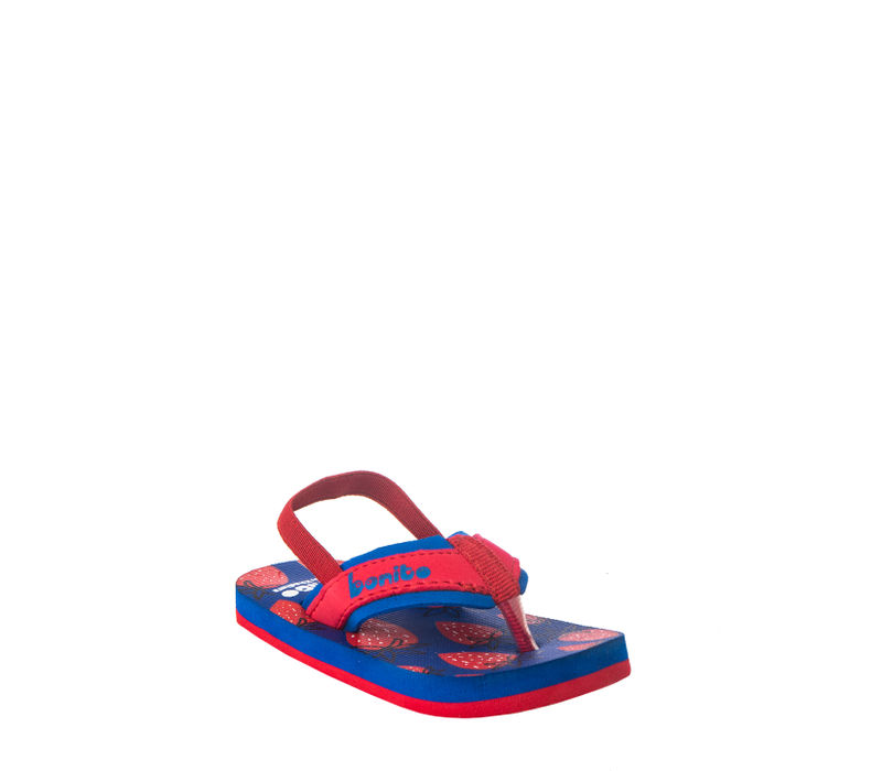 Bonito Kids Blue Casual Strap-On Sandal