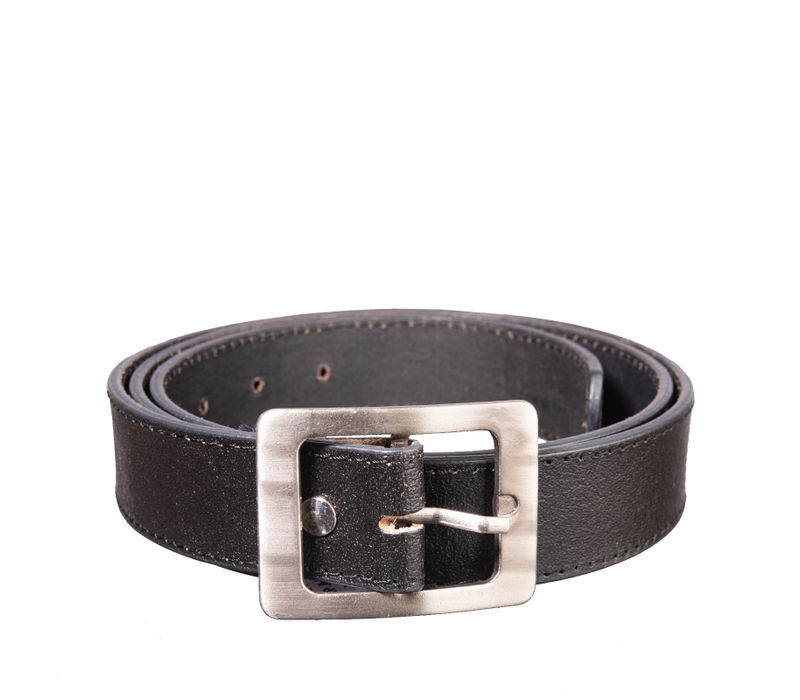 Khadim's Black Office Leather Belt